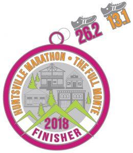Huntsville Marathon 2018 Medal
