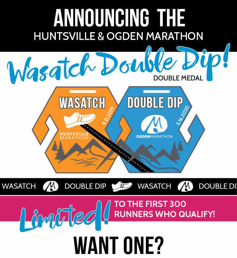 Wasatch Double Dip - Huntsville and Ogden Marathons