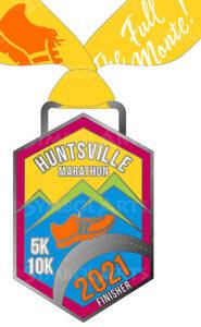 Huntsville Marathon 2021 Medal